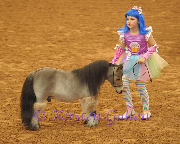 KAYLEE LEHRMANN and her horse, SPRINGTIME LIL' BUCKAROO