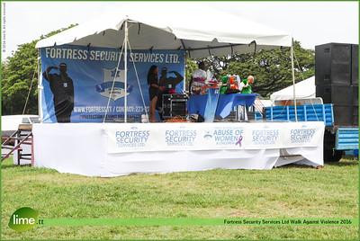 Fortress Security Services Ltd Walk Against Violence.
