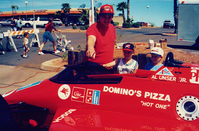 Al Unser Jr.'s Formula 1 race car