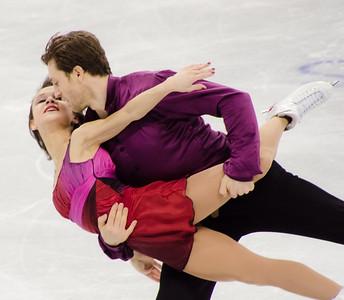 Liubov Ilyushechkina and Dylan Moscovitch