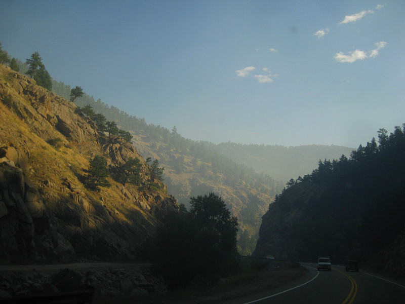 Smokey Haze from the Four Mile Canyon Fire