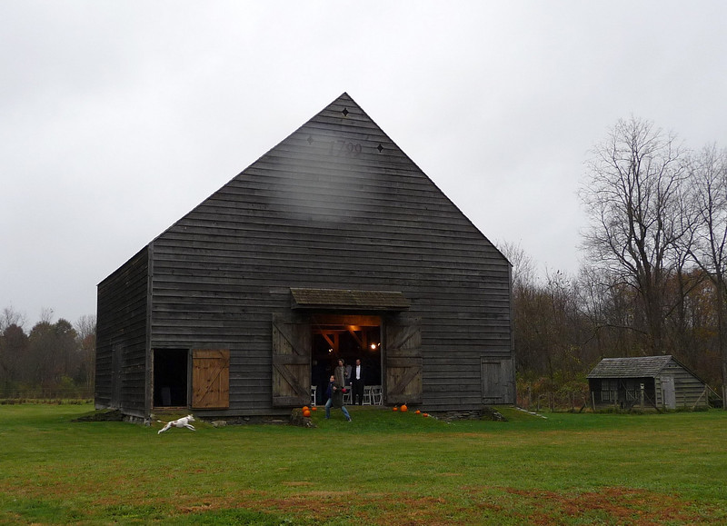 The beautiful restored Spencer barn from around 1799 in Ancram, NY.