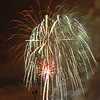 It was time for the fireworks show on the grounds outside the activity center.