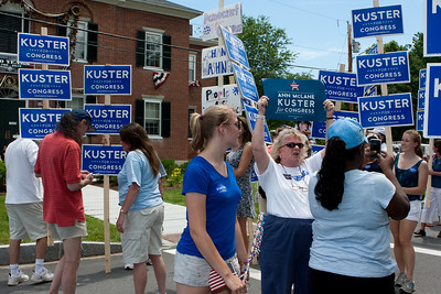 Enthusiastic supporters.