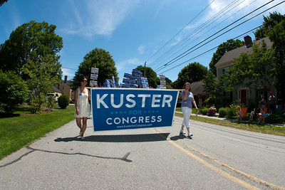 Annie Kuster for Congress in the Amherst Parade.