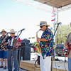 The Fritz Morquecho Band performs downtown on July 4, 2011.