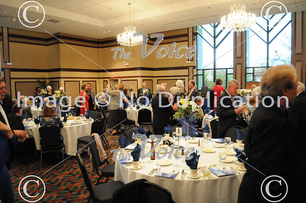 Fox Valley Arts Hall of Fame at Pipers Banquets in Aurora, IL 4-19-12