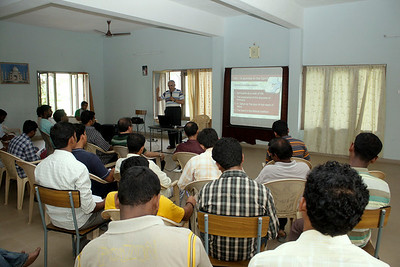 During Fr. General's visit to the Christu Dehon Nivas community, Eluru, he spent several days for meetings and presentations about the Congregation and the status of the India District.