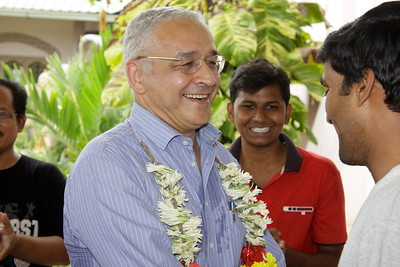 On June 7, Frs. Ornelas and Sugino were welcomed to Andhra Pradesh by the SCJ community in Eluru (major seminary.)
