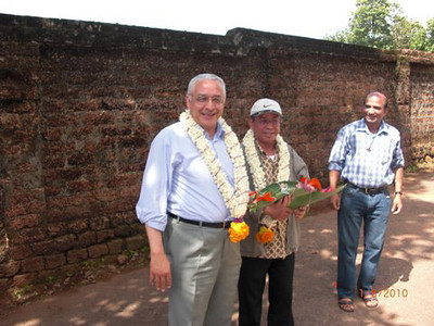 Fr. Ornelas (Superior General) and Fr. Sugino (General Councilor) arrived in India on June 1, 2010.