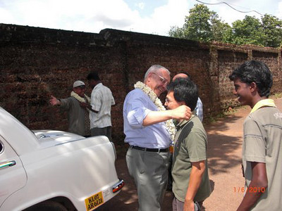 They received a very warm welcome from the SCJ community in Aluva, Kerala.