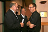 Before the ordination Mass Fr. Greg (right) visits with Br. Ray Kozuch and Br. Clay Diaz