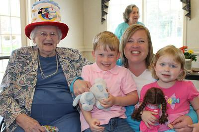 Frances Taylor is 94!!! April 21st party 2013