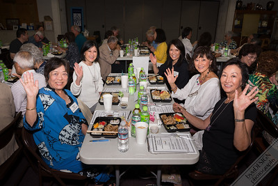 Nisei Week Queens table.