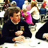 Debbie Blank | The Herald-Tribune<br /> The Franklin County High School FFA officer team were among many who enjoyed the dinner by Izzy's Catering, Batesville, in the school cafeteria.