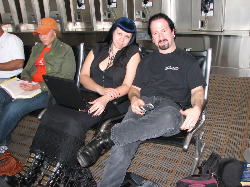 I ran into some freaks on my flight out of DC.
