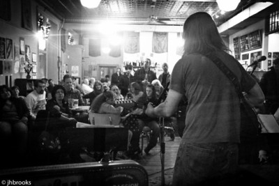 Fred Gillen at the Coffee House