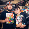 "At Spacecat Comics and Cards, San Jose.<br /> <br /> Photo by Geoffrey Smith II | <a href=""http://www.geoffreysmithphotography.com"">http://www.geoffreysmithphotography.com</a>"
