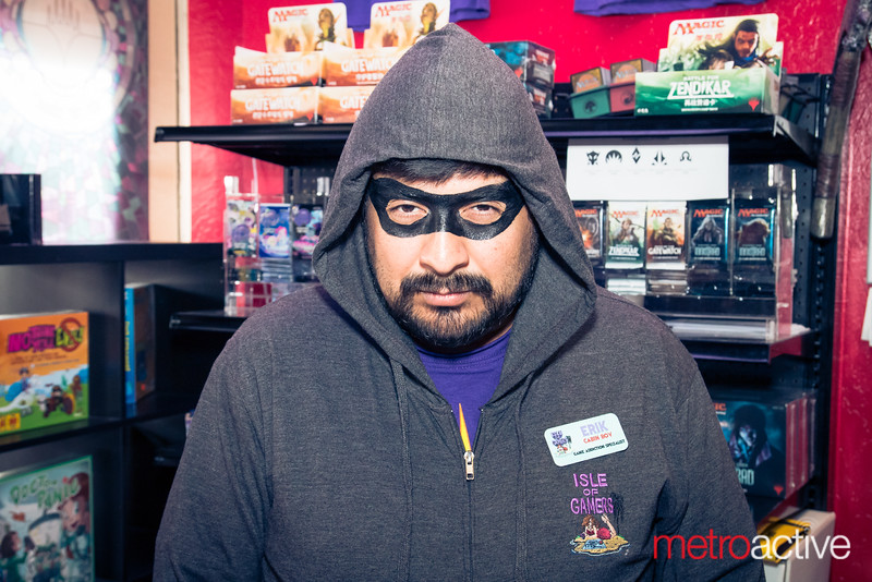 """At Illusive Comics and Games, Santa Clara<br /> <br /> Photo by Geoffrey Smith II 