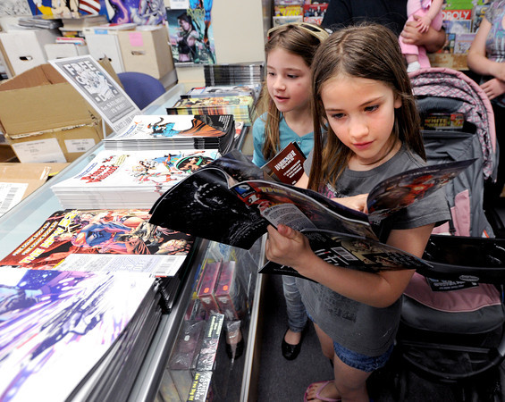 Free Comic Book Day at Time Warp