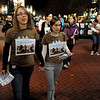 "Natalie Senske, left, and Shannon Bauer, the sister of one of the detained hikers, pass out information about the situation on the Pearl Street Mall with other supporters.<br /> A vigil in support of three American hikers detained in Iran  was held at the Pearl Street courthouse lawn Sunday evening. Shane Bauer, Sarah Shourd and Josh Fattel were arrested July 31, 2009 as they strayed across an unmarked border during a  hiking trip in Iraqi Kurdistan.<br /> For more photos of the Vigil, go to  <a href=""http://www.dailycamera.com"">http://www.dailycamera.com</a>.<br /> Cliff Grassmick / November 8, 2009"