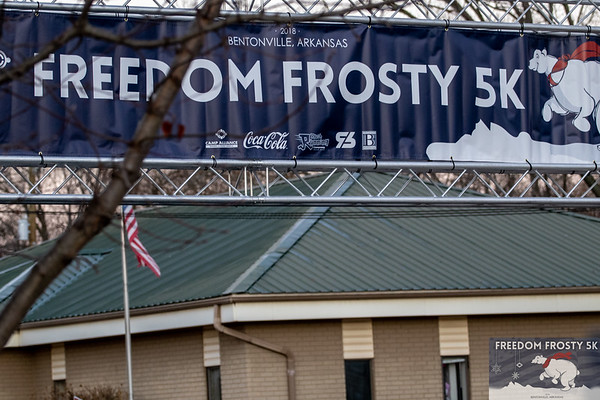 On a blustery Saturday morning runners came out to run a 5k through the streets of Bentonville, decked in their Christmas finest, for Run Bentonville's Freedom Frosty 5K partnered with Camp Alliance, Inc.