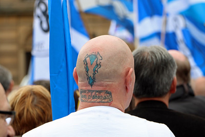 Freedom over Fear Rally Glasgow
