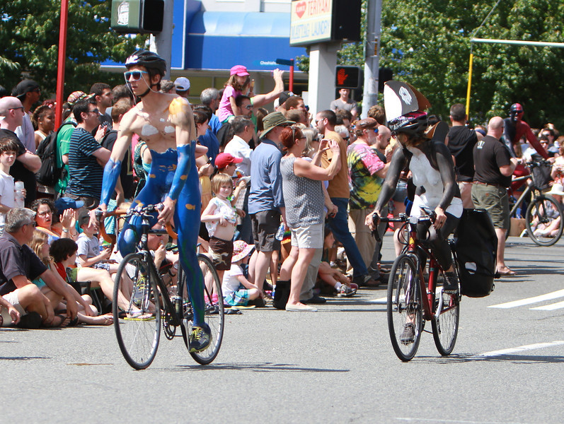 Fremont Solstice Parade 2013 (Painted Cyclits)
