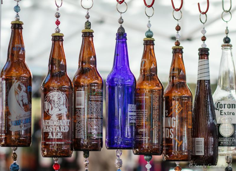 French Festival, Hanging Bottles