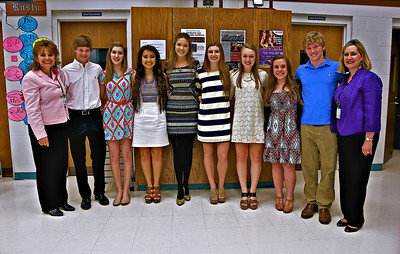 French National Honor Society Induction 2014