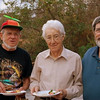 <b>Tom Poulson, Frank Bodofsky and Bill Ross</b> January 22, 2012 <i>- Kay Larche</i>