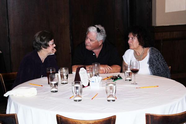 <b>Kay Larche, Harvey Marks, Susan Nankin</b> Maggiano's Little Italy, November 5, 2013 <i>- Michael Dropkin</i>