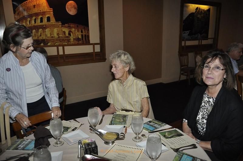 <b>Kay Gates, Peggy Guyder, Cheryl Lohse</b> Saltimbocca Italian Bistro, November 12, 2014 <i>- Anthony Lang</i>