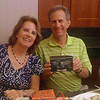 <b>Steve and Jayme Horowitz show off their World Clock</b> February 23, 2013 <i>- Kay Larche</i>