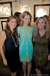 Silvia Damen - Friends of Larkin Street Board Member, Leslie Stewart, and Tracie Militano