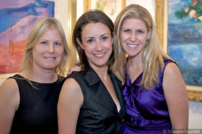 Laurie Thomas, Michelle Pampin and Annette Giambroni, Friends of Larkin Street Board Members