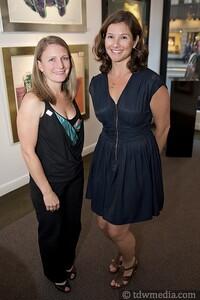 Nicole Garrootte and Wendy Langely