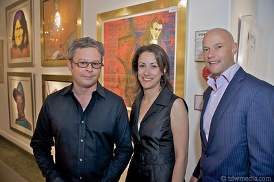 Jay Shrauner, Michelle Pampin and Todd Greenhaulgh