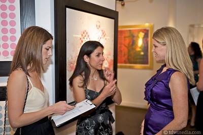 Wendy Leopold, Natasha Chalmers and Annette Giambroni - Friends of Larkin Street Board Member