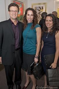 Chuck Buche, Gabrielle Miller, and Dana Levit