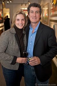 Heidi Huntsman and Mark Robinson