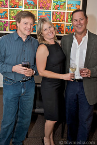 Jim Margeson, Laurie Thomas and Mark Cohen