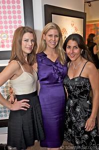 Wendy Leopold, Annette Giambroni - Friends of Larkin Street Board Member, and Natasha Chalmers