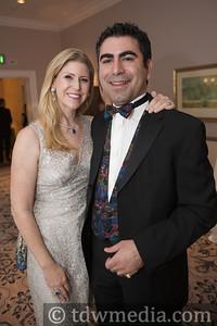 Annette Farmanfarmaian (Board Member) and Prince Mansoor V. Farmanfarmaian
