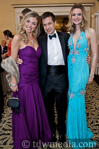 Sara Pirami, Enzo Carrone, and Marie Carr (Bravo! Club President)