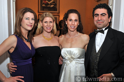 Wendy Leopold, Annette Farmanfarmaian, Gabrielle Miller, and Mansoor Farmanfarmaian