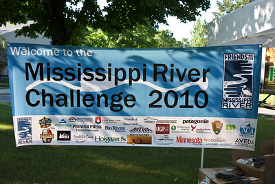 The 2010 Mississippi River Challenge kicked off at Coon Rapids Dam Regional Park in Brooklyn Park, MN bright and early on the morning of July 24th.