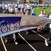 Friends of the Poor Walk at Highland Junior High Saturday kicked off with the parade lap.