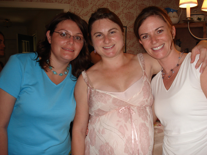 Yo, Molly and Me at Molly's Baby Shower in Yarmouth (August 2007)