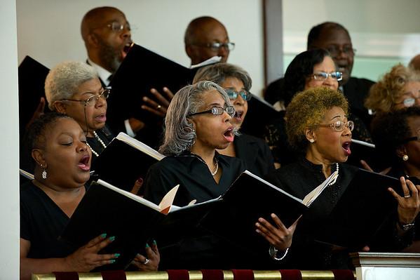Friendship Baptist Church's last service before moving.  Friendship Baptist Church's last service before moving.